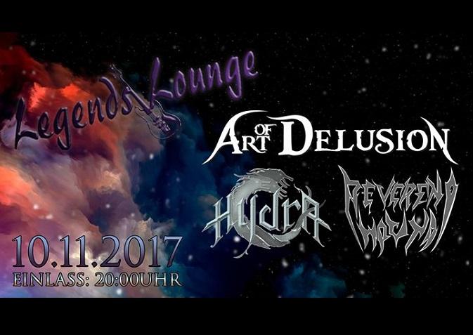 Art of Delusion + Hydra + Reverend Hound