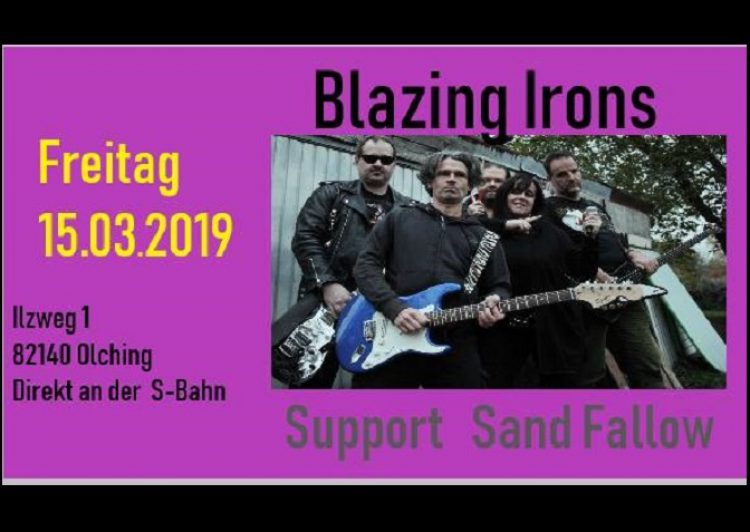 Blazing Irons + Sand Fallow • Live