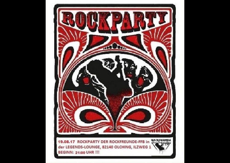 Rockparty der Rockfreunde FFB