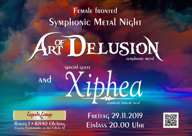Art Of Delusion + Xiphea live