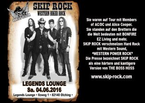 SKIP ROCK - Outlaws Tour 2016