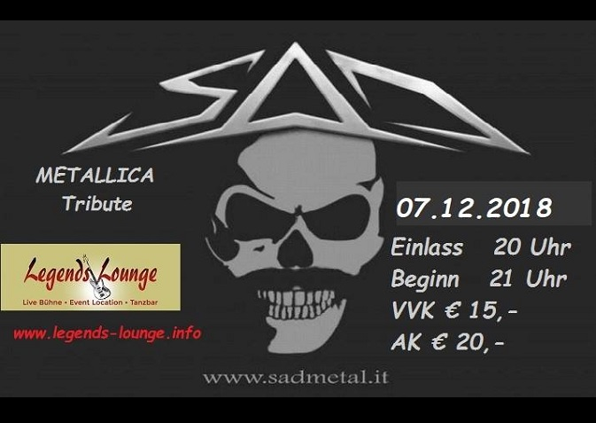 SAD-Metallica Tribute