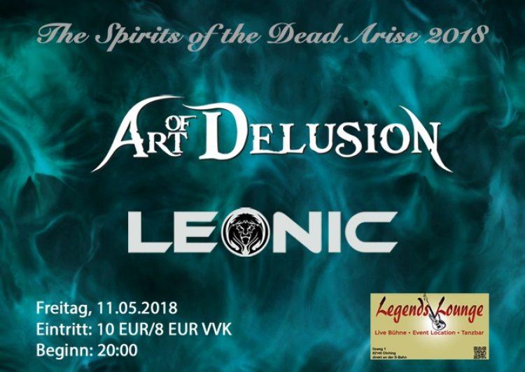 Art of Delusion & Leonic • Live