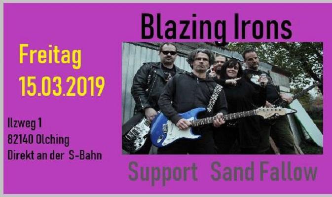 Blazing Irons + Sand Fallow