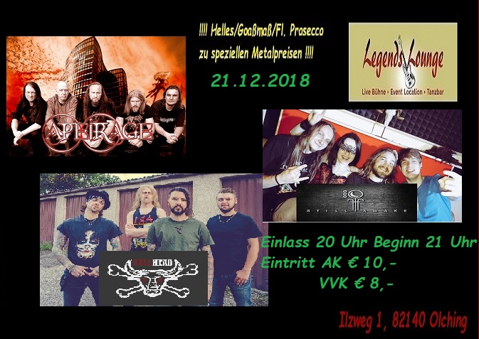 3. Legends Lounge Metal Nacht