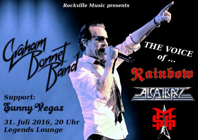 Graham Bonnet Band • Support Sunny Vegas